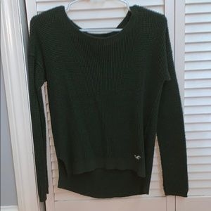 Army green Hollister sweater
